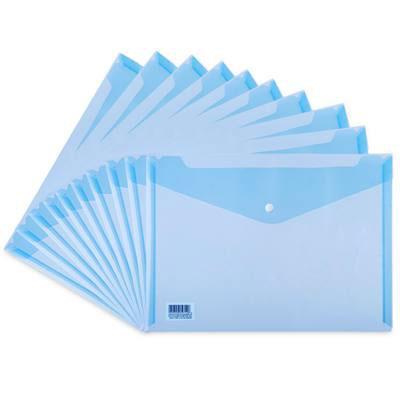 得力5505文件袋(透明)(只)