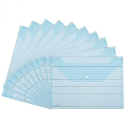 得力8313文件袋(蓝)