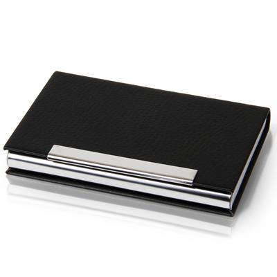 得力7628名片盒(黑)