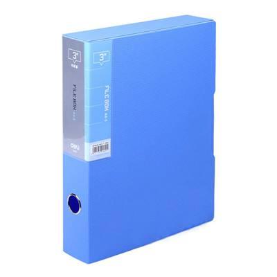 得力5609档案盒(蓝)(只)
