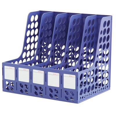得力9837五联文件框(蓝)(只)