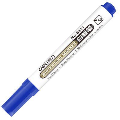 得力思达6811蓝色白板笔(支)