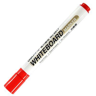 得力思达6817优逸白板笔(红色)(单支)