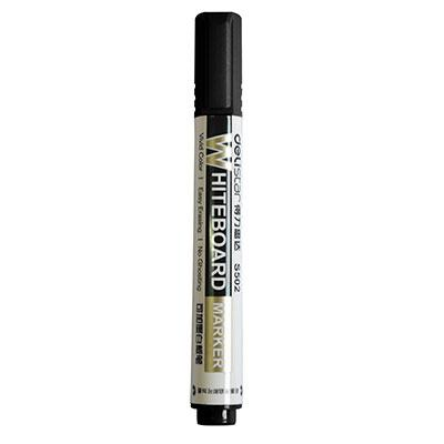 得力思达S502可加墨白板笔(黑色)单支