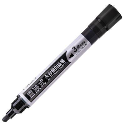 得力S518黑色白板笔 单支