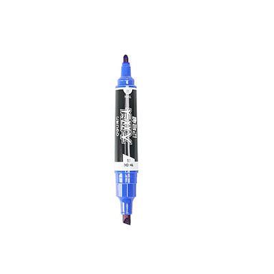 得力S555大双头记号笔(蓝)(支)