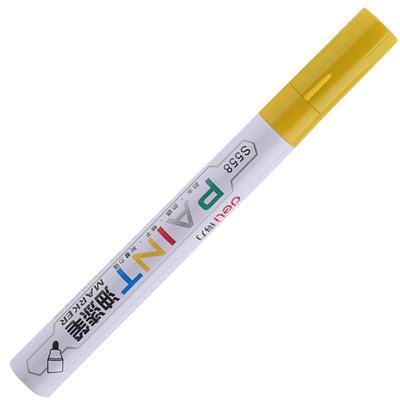 得力S558油漆笔(黄色)