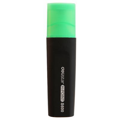 得力思达S600荧光笔(绿)(支)