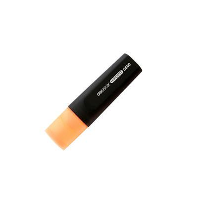 得力思达S600荧光笔(橙)(支)