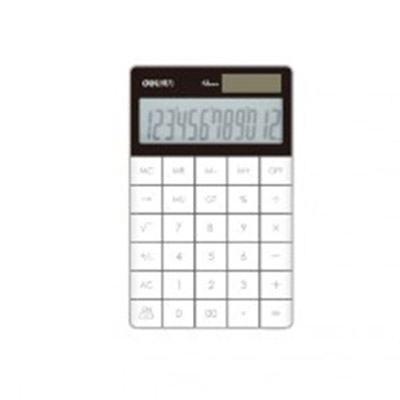 得力1589桌面计算器(白)