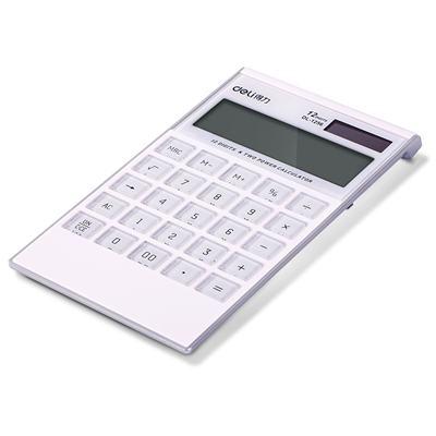 得力1256桌面计算器(白)(台)