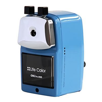 得力0620金属外壳削笔机(蓝)