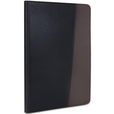 得力7911皮面笔记本(黑)-120页-25K(本)