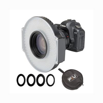 富莱仕 R300S SE双色温环形LED摄像灯新闻采访灯
