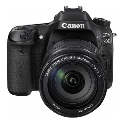 佳能 EOS 80D 数码单反照相机
