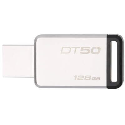 金士顿USB3.1  金属U盘 DT50 128GB移动存储