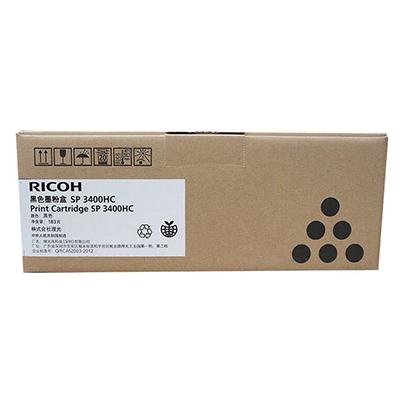 理光 黑色碳粉盒SP3400HC