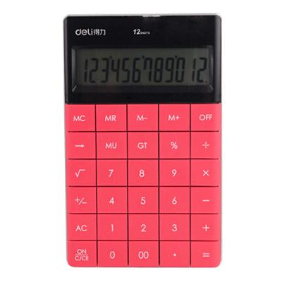 得力 1589计算器(黑/红/蓝)