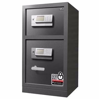 得力3657A电子密码保管箱(银灰)