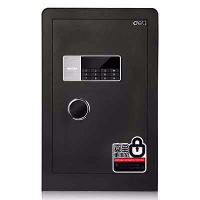 得力4079B电子密码保管箱(黑色)