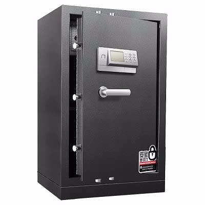 得力3656A电子密码保管箱(银灰)