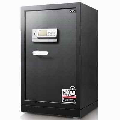得力3655A电子密码保管箱(银灰)