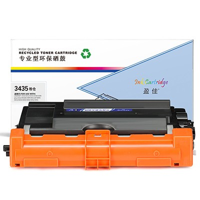 盈佳 YJ-3435-F 黑色 粉盒 适用于XD HL-5580D 5585D 5590DN 5595DN MFC-8530DN 8535DN 8540DN