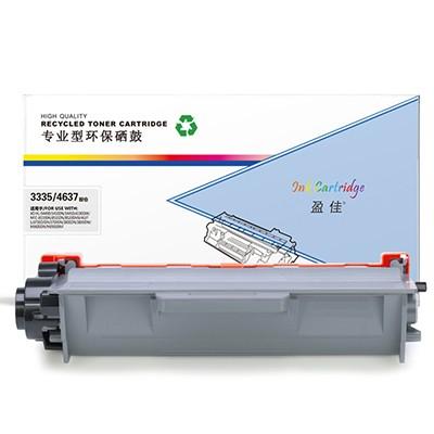 盈佳 YJ-3335/4637-F 黑色 粉盒 适用于HL-5440D 5450DN 5445D 6180DW MFC-8510DN 8515DN 8520DN