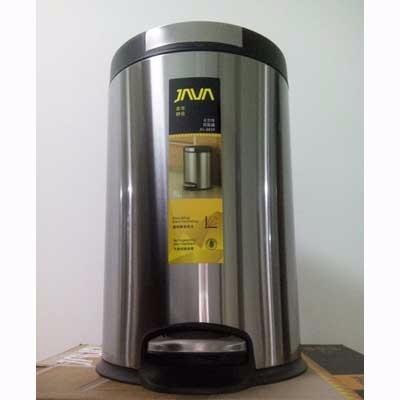 家华8859TYT不锈钢垃圾桶(8L)