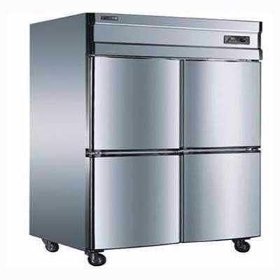 宝士利四门立式双机冰柜1200*700*1900