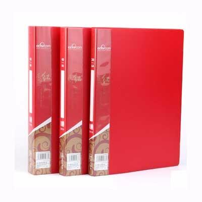 康百AB307W A4东方红文件夹单个装
