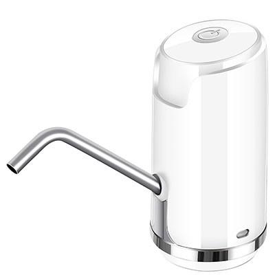 为伴桶装水抽水器 象牙白按键款
