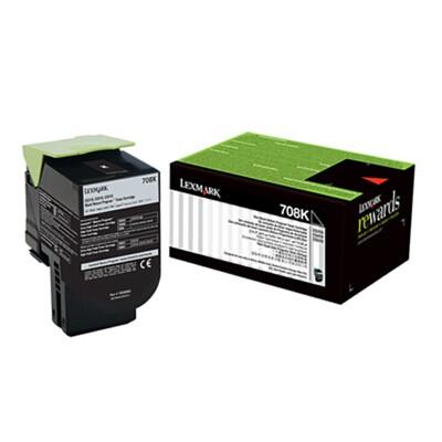 利盟70C80K0黑色墨粉盒