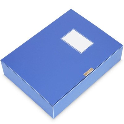 得力33150档案盒75mm单只装
