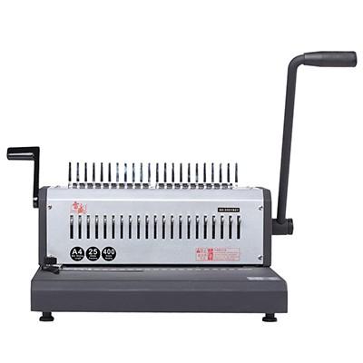 雷盛SD-2501B21梳式21孔胶圈夹条打孔机