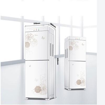 美的YR1226S-W饮水机立式温热型双封闭门防尘大储物柜饮水器