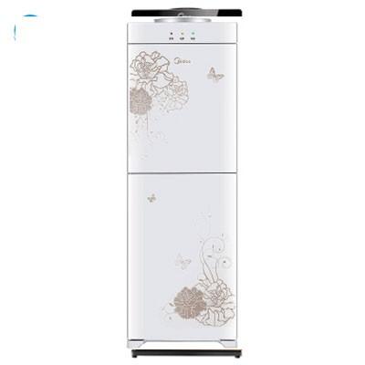 美的YD1226S-W饮水机立式温热型双封闭门防尘大储物柜饮水器