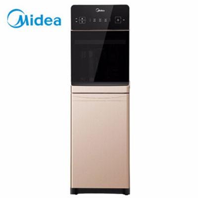 美的YD1519S-X饮水机立式冷热冰热童锁沸腾胆下进水饮水器金色