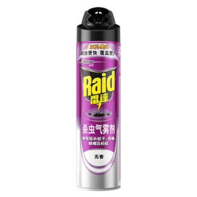 雷达杀虫气雾剂无香600ml单瓶装
