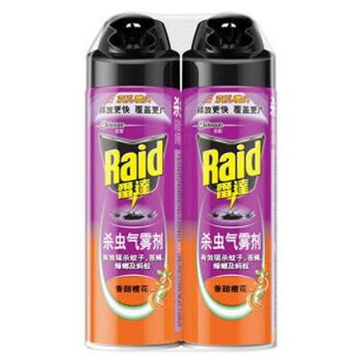 雷达杀虫气雾剂香甜橙花550ml单瓶装