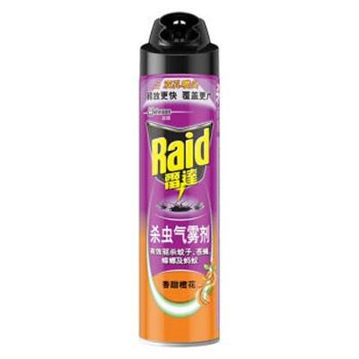 雷达杀虫气雾剂香甜橙花香型600ml单瓶装