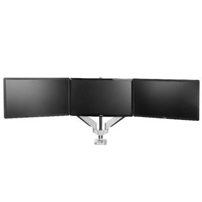 乐歌D7T三屏显示器支架旋转伸缩全铝支架