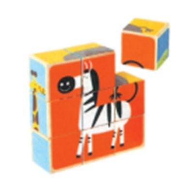 智高乐ZGL-16394K动物六面拼图