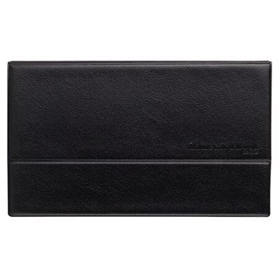齐心NC288硬皮摊开式名片册288枚黑色