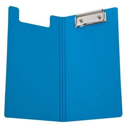 齐心A5306央格系列文件夹/票据夹双折式板夹蓝色