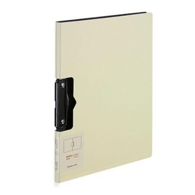 齐心A4简约横式折页板夹实用会议文件夹A5328黄