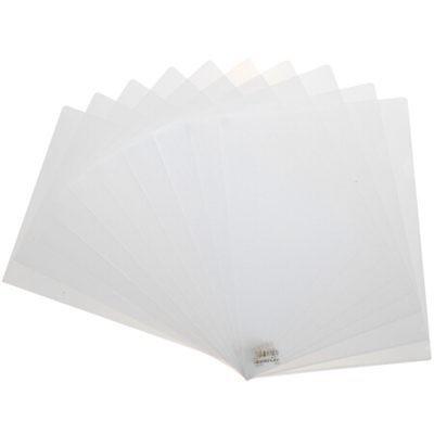 齐心E310二页文件套L型A4文件夹透明单片夹