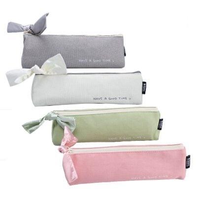 晨光APBN3433笔袋收纳袋绿色单个装