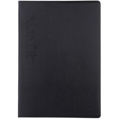 晨光APYLL488皮面记事本B5/76页黑色单本装