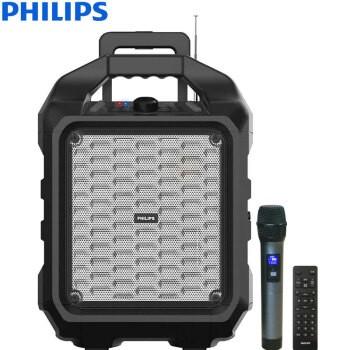 飞利浦SD75大功率音响蓝牙音箱带无线麦克